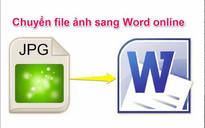 #2 Cách chuyển file ảnh sang file word online