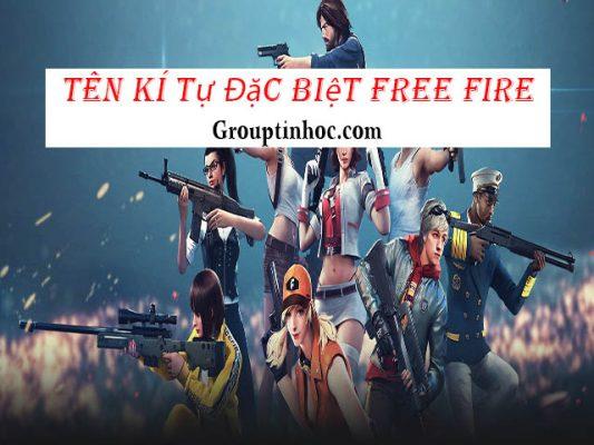 Tạo Kí Tự Đặc Biệt Free Fire – Đặt Tên Free Fire FF Đẹp 2021