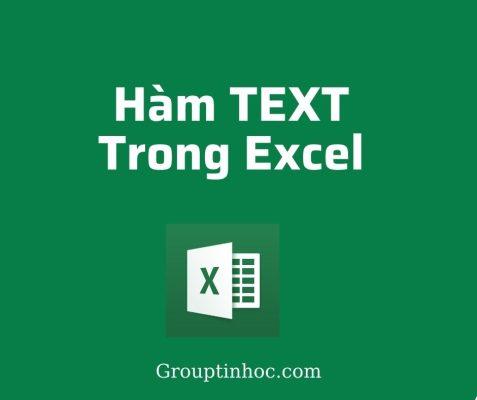 Hàm TEXT Trong Excel – Công Thức Và Những Ứng Dụng Tuyệt Vời