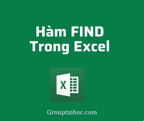 Hàm FIND trong Excel: Câu Lệnh và Ví Dụ Áp Dụng
